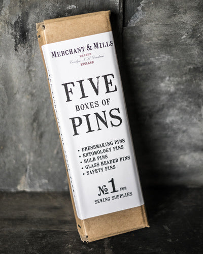 Five pins box