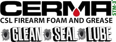 Cerma Ceramic C•S•L Firearm Foam and Grease Treatment