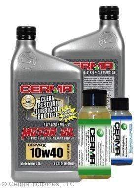 CERMA PERFORMANCE - RACING VALUE PACKAGE-With Automatic Transmission 2oz for auto Value Package Savings cermatreatment.com