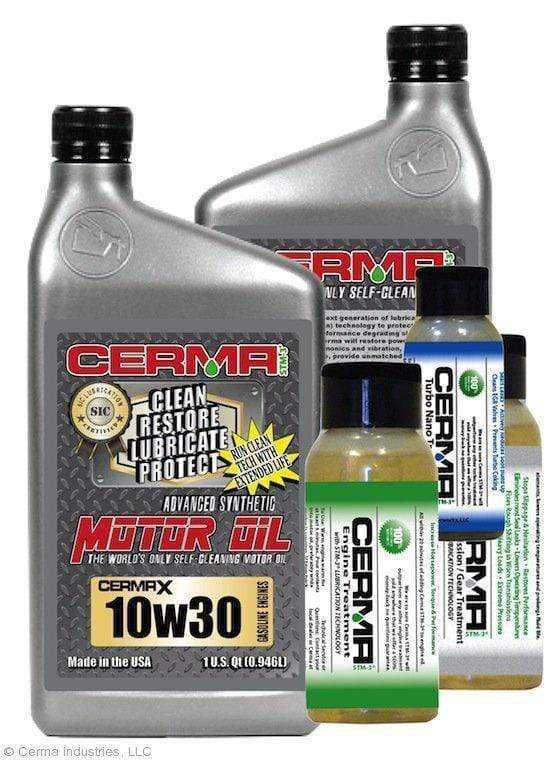 CERMA PERFORMANCE - RACING VALUE PACKAGE-With Manual Transmission 2oz for auto