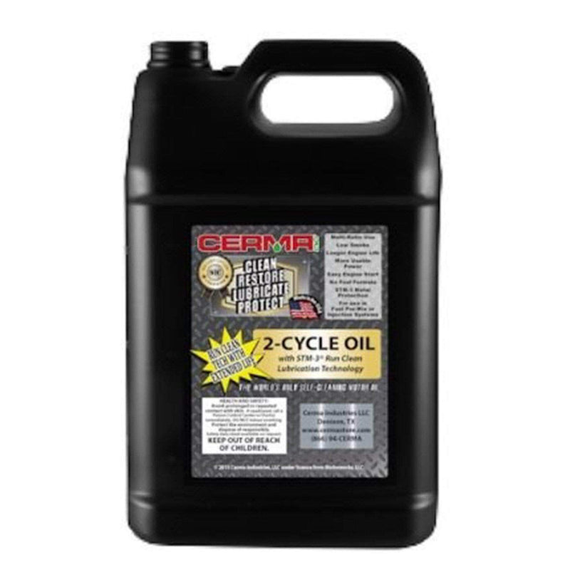 Cermax Ceramic 2-Cycle Multi-Ratio Oil 1 Gallon (128 Ounces) 2-Cycle Oils cermatreatment.com