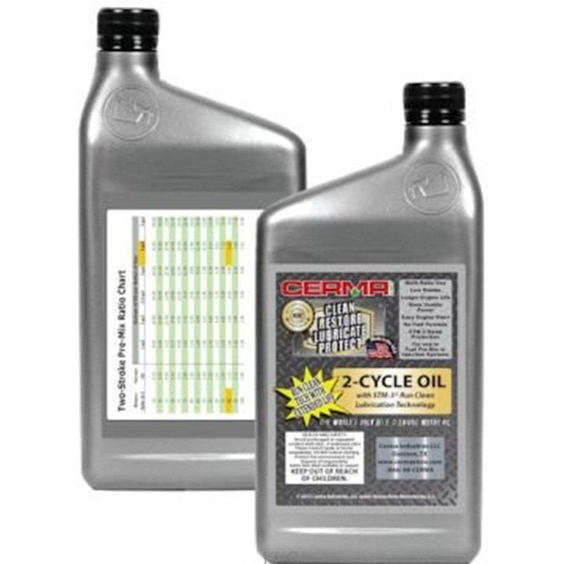 Cermax Ceramic 2-Cycle Multi-Ratio Oil 1 Quart (32 Ounces) 2-Cycle Oils cermatreatment.com