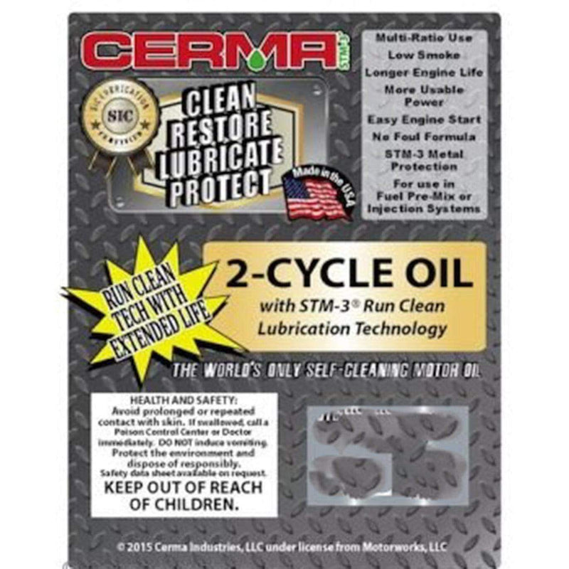 Cermax Ceramic 2-Cycle Multi-Ratio Oil 2-Cycle Oils cermatreatment.com