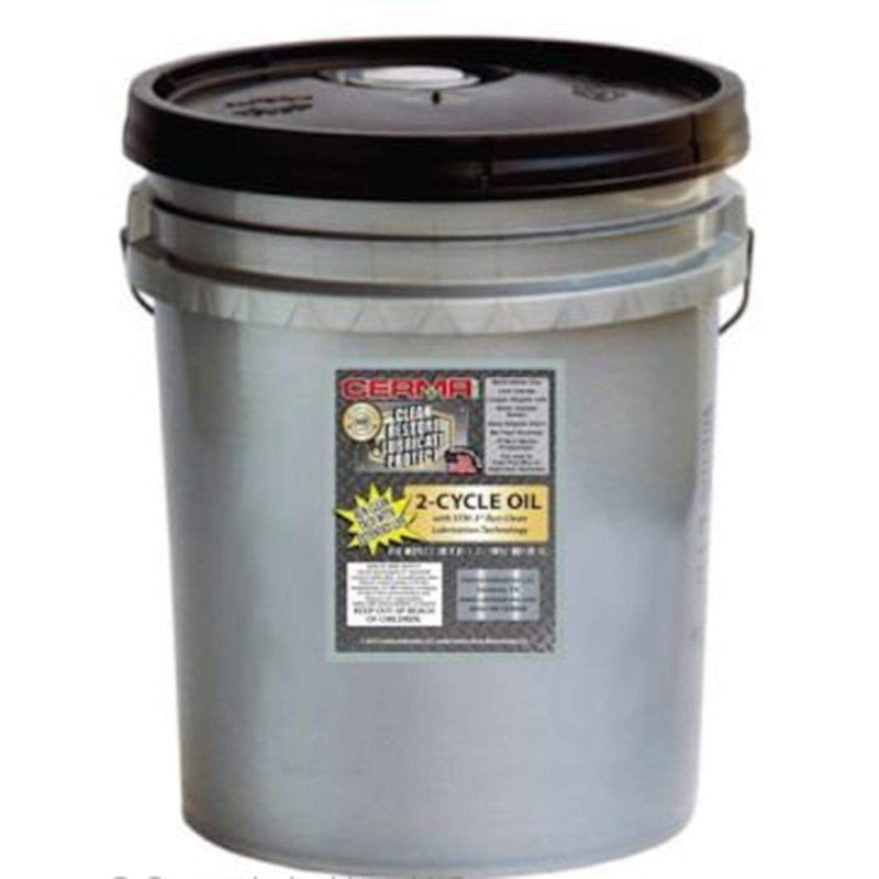 Cermax Ceramic 2-Cycle Multi-Ratio Oil 5 Gallon Pail (640 Ounces) 2-Cycle Oils cermatreatment.com