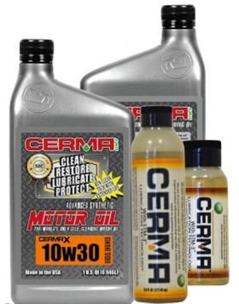 Cermax Diesel Ceramic Synthetic Oil Value Package for Pick Up Truck 10w30 Diesel Value with Manual Trans / 8 Quarts Value Package Savings cermatreatment.com