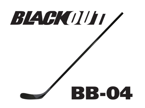BLACKOUT Hockey Stick BB-04 (Similar to P92/Sakic/Hall/Crosby)