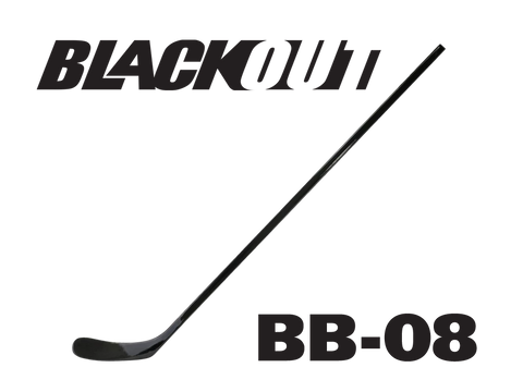 BLACKOUT Hockey Stick BB-08 (Similar to Ovechkin)