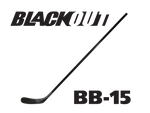 BLACKOUT Hockey Stick BB-15 (Similar to Lidstrom/Getzlaf/P02)