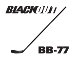 BLACKOUT Hockey Stick BB-77 (Similar to P91A/Drury/Galchenyuk)