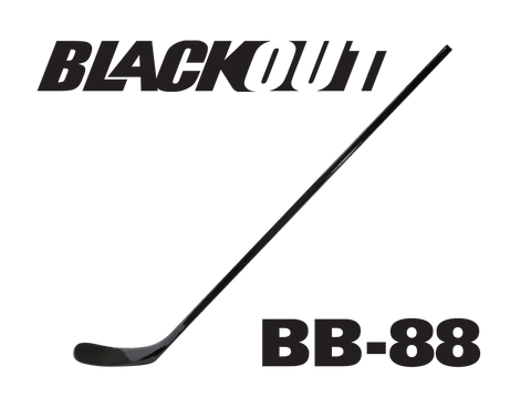 BLACKOUT Hockey Stick BB-88 (Similar to P88/Kane/Lindros)