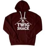 The Twig Shack Premium Pullover Hoodie (white logo)