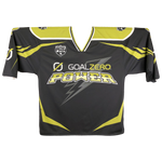 Home and Away Custom Double Sided Sublimated Jersey (White/Green & Black/Green)