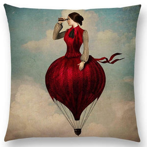Shakespeare Style Cushion Covers for Writers, Artists and the creative at heart!