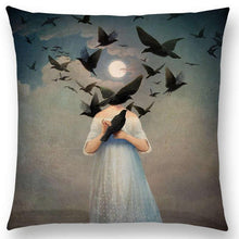 Load image into Gallery viewer, Shakespeare Style Cushion Covers for Writers, Artists and the creative at heart!