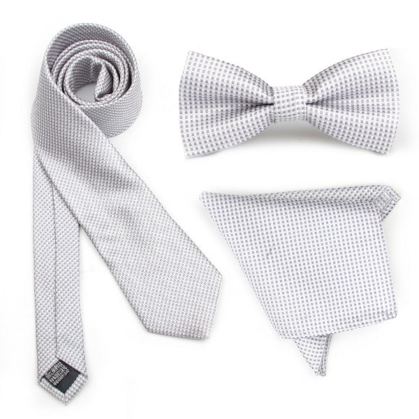 White Gingham Combo Set