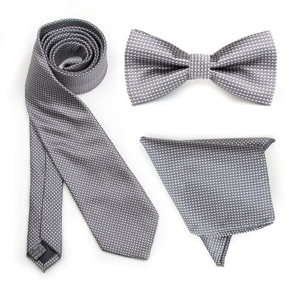 Grey Gingham Combo Set
