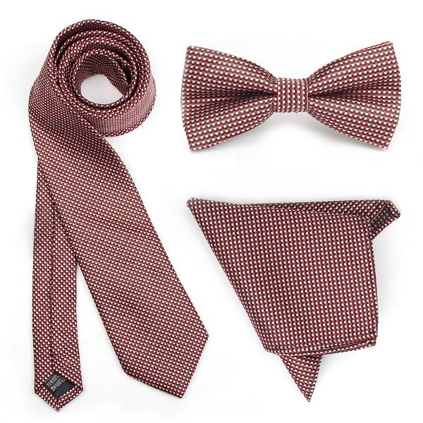 Maroon Gingham Combo Set