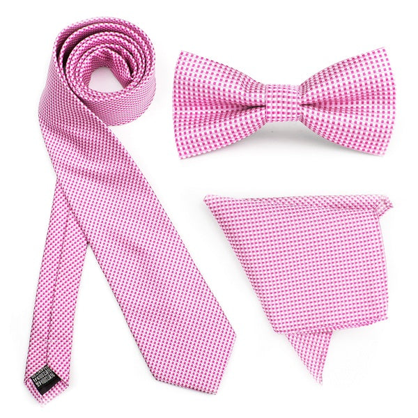 Pink Gingham Combo Set
