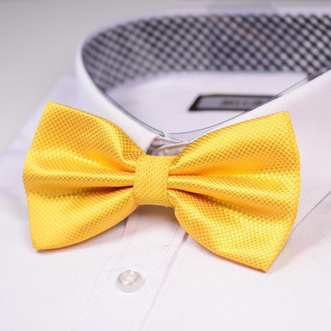 Golden Yellow Shine Bowtie