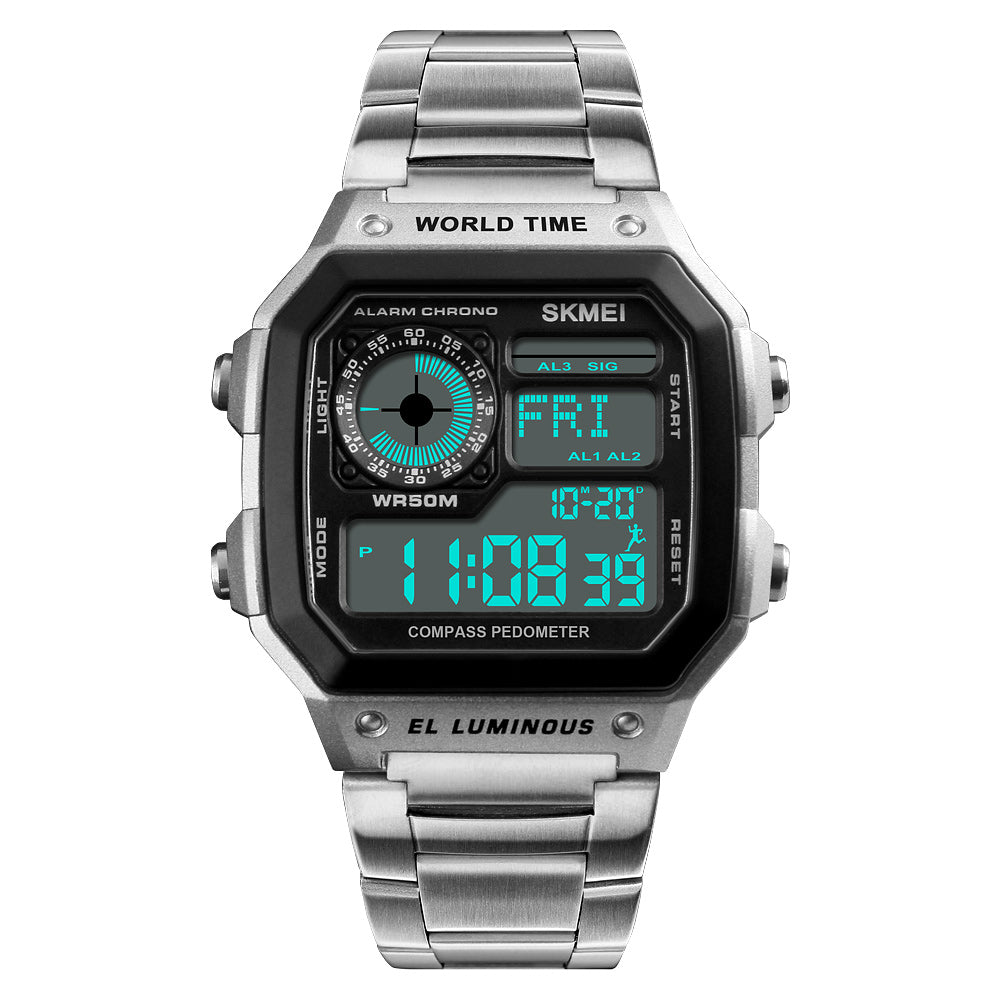 Old School Classic Digital Watch