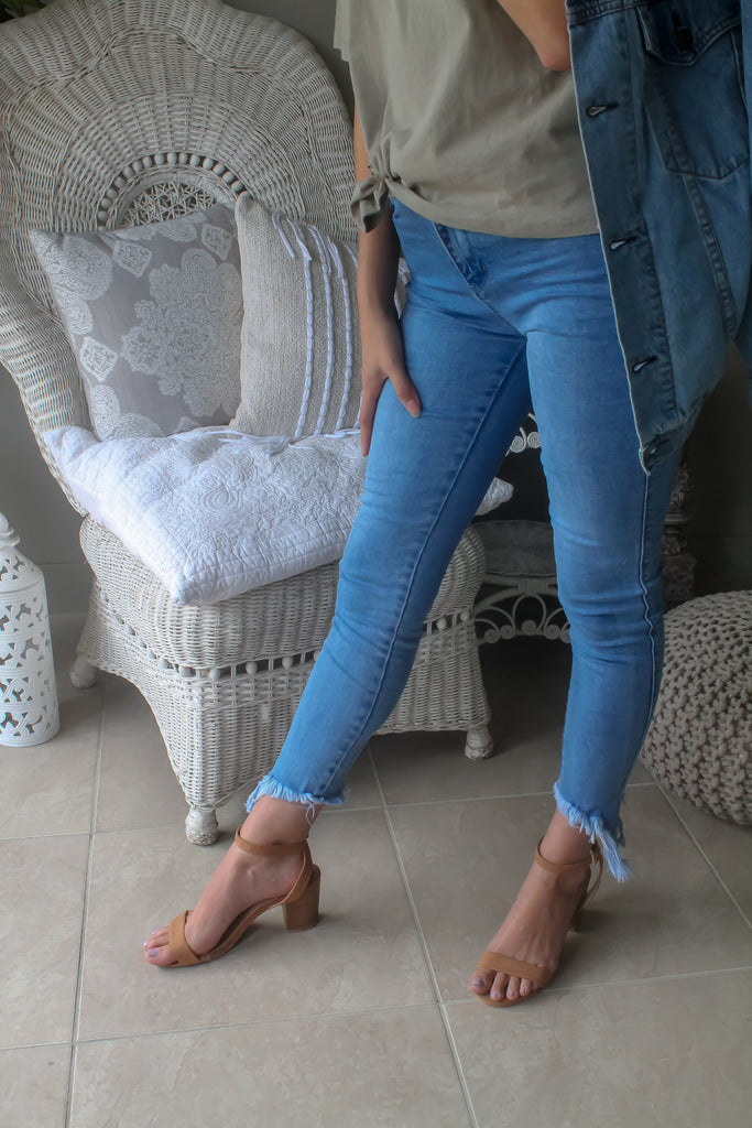 MADDISON DENIM JEAN BLUE