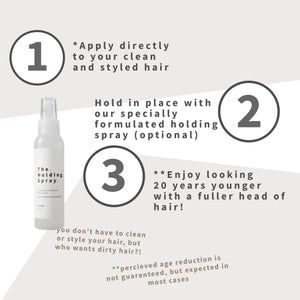 The Holding Spray - 120ml (Professional Fiber Holding Spray)