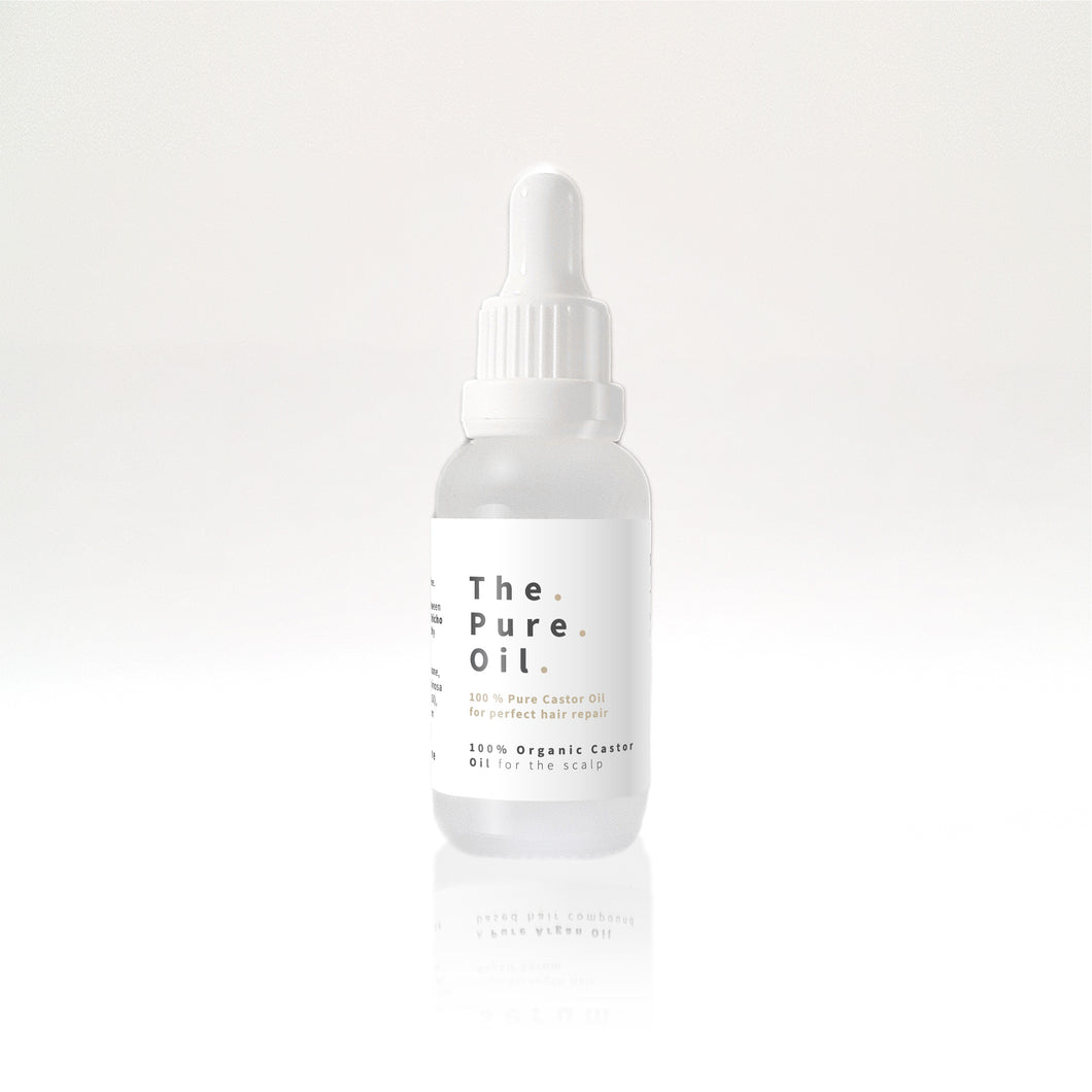 The Pure Oil - 30ml | 100% Purified Natural Castor Oil for hair