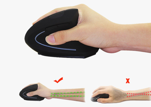 Ergonomic-Vertical-Mouse