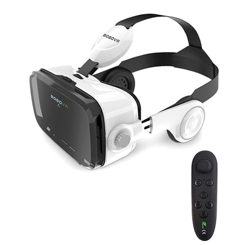 3D Virtual Reality VR Headset With Headphones