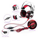 Gaming Headset PS4, Xbox One & PC - Led lights