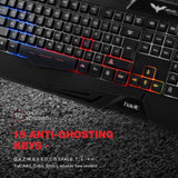 LED Gaming Keyboard & Mouse Bundle - Xbox One / PS4 Compatible