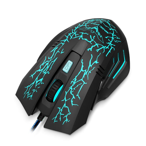 Gaming Mouse 2400 DPI  - 7 LED