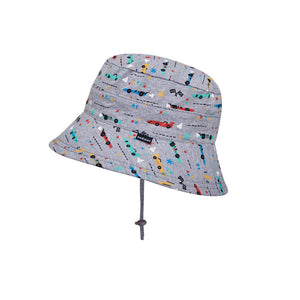 Bed Head Bucket Hat Racer Print