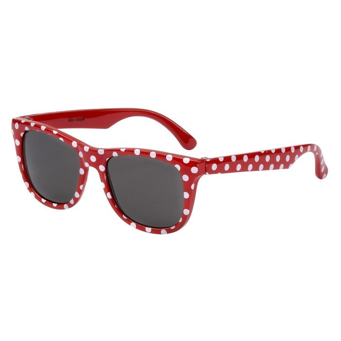 Red White Spot Minnie Gidget Sunglasses (0-18 Months)