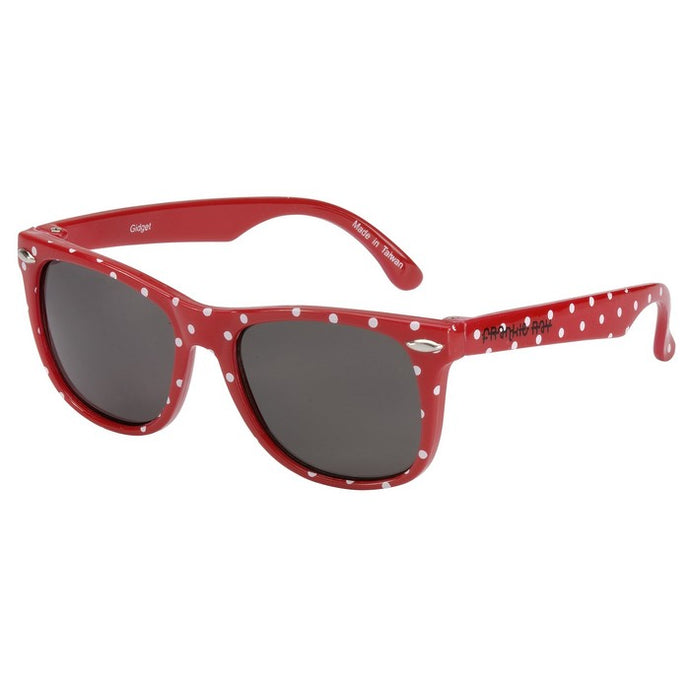 Gidget Red and White Spot Sunglasses (3 Years and Up)