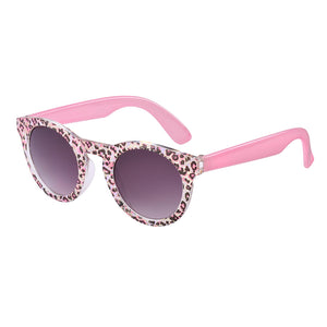 Pink Leopard Print Candy Sunglasses (1-3 Years)