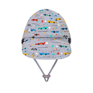 Bed Head Baby Legionnaire Flap Hat Racer Print