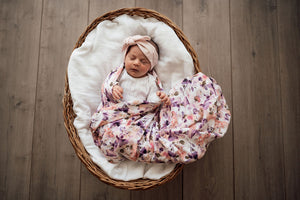 Blushing Beauty Organic Muslin Wrap
