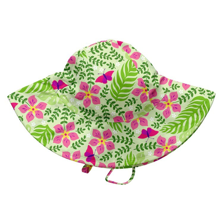 Tropical Lime Brim Hat