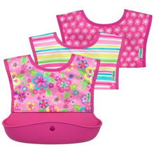 Snap and Go Silicone Food Catcher Bib