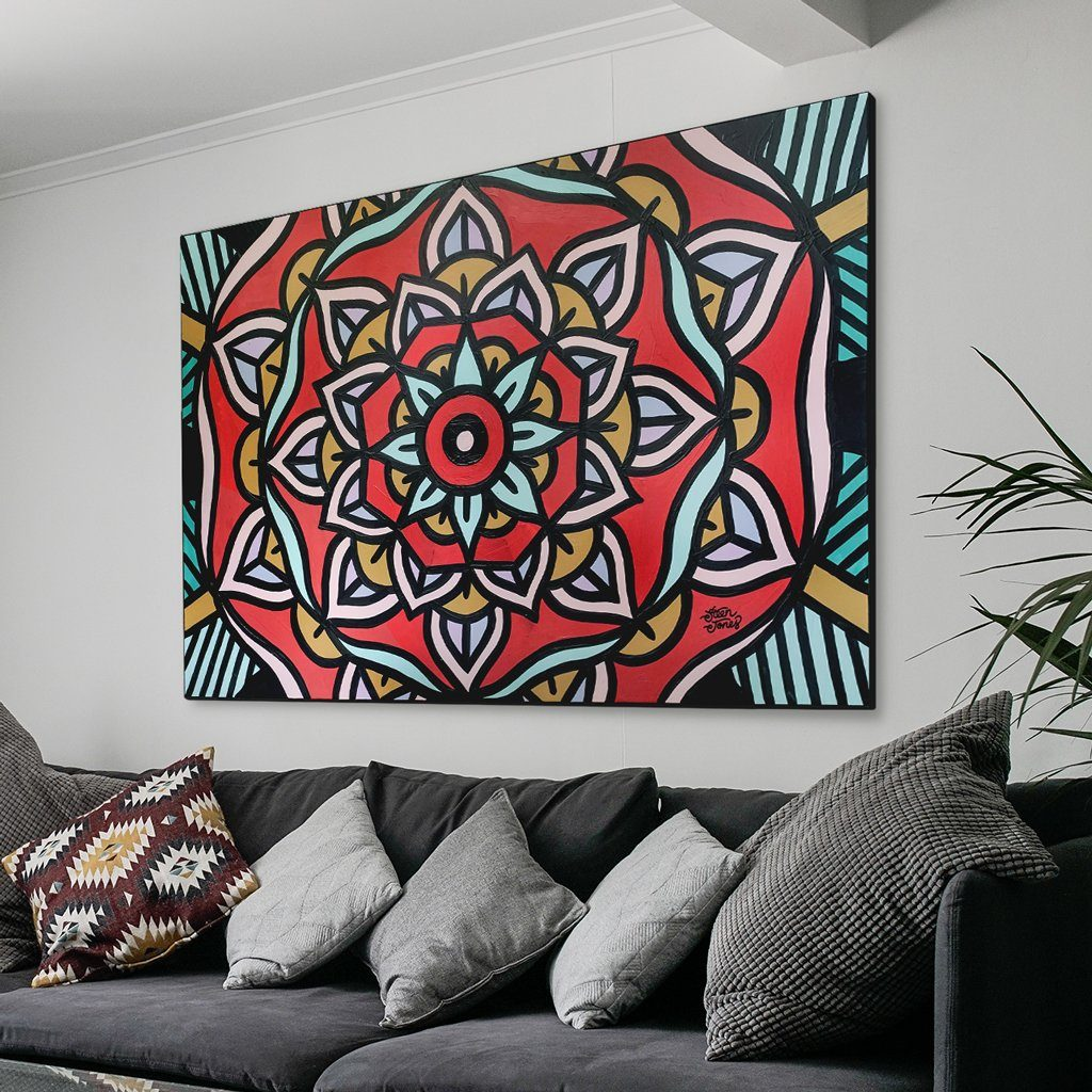 Original Canvas Deposit: 180x90cm (70x35in) - Steenjones