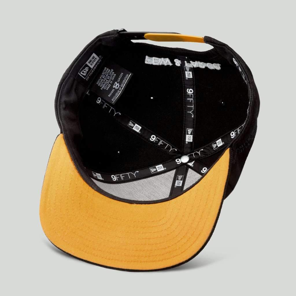 Black/Gold 'Only The Strong Survive' 9FIFTY Snapback - Steenjones