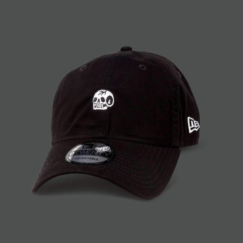 Black 'Trademark Skull' 9TWENTY Dad Hat - Steenjones
