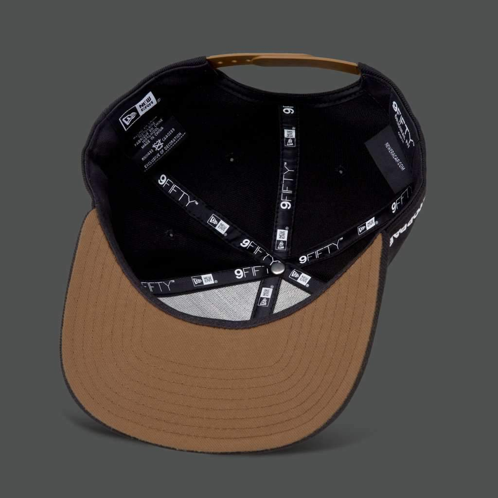 Black/Wheat 'Trademark Skull' 9FIFTY Snapback - Steenjones