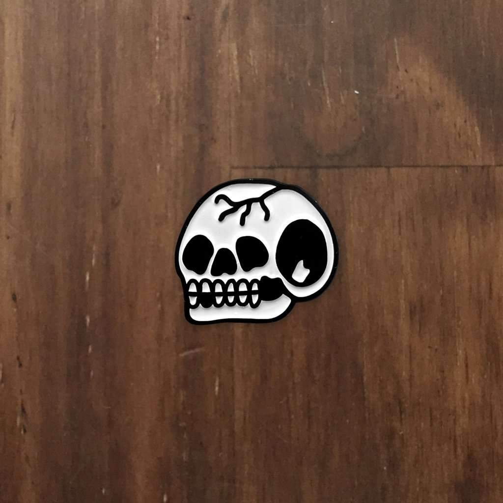 'Trademark Skull' Lapel Pin - Steenjones