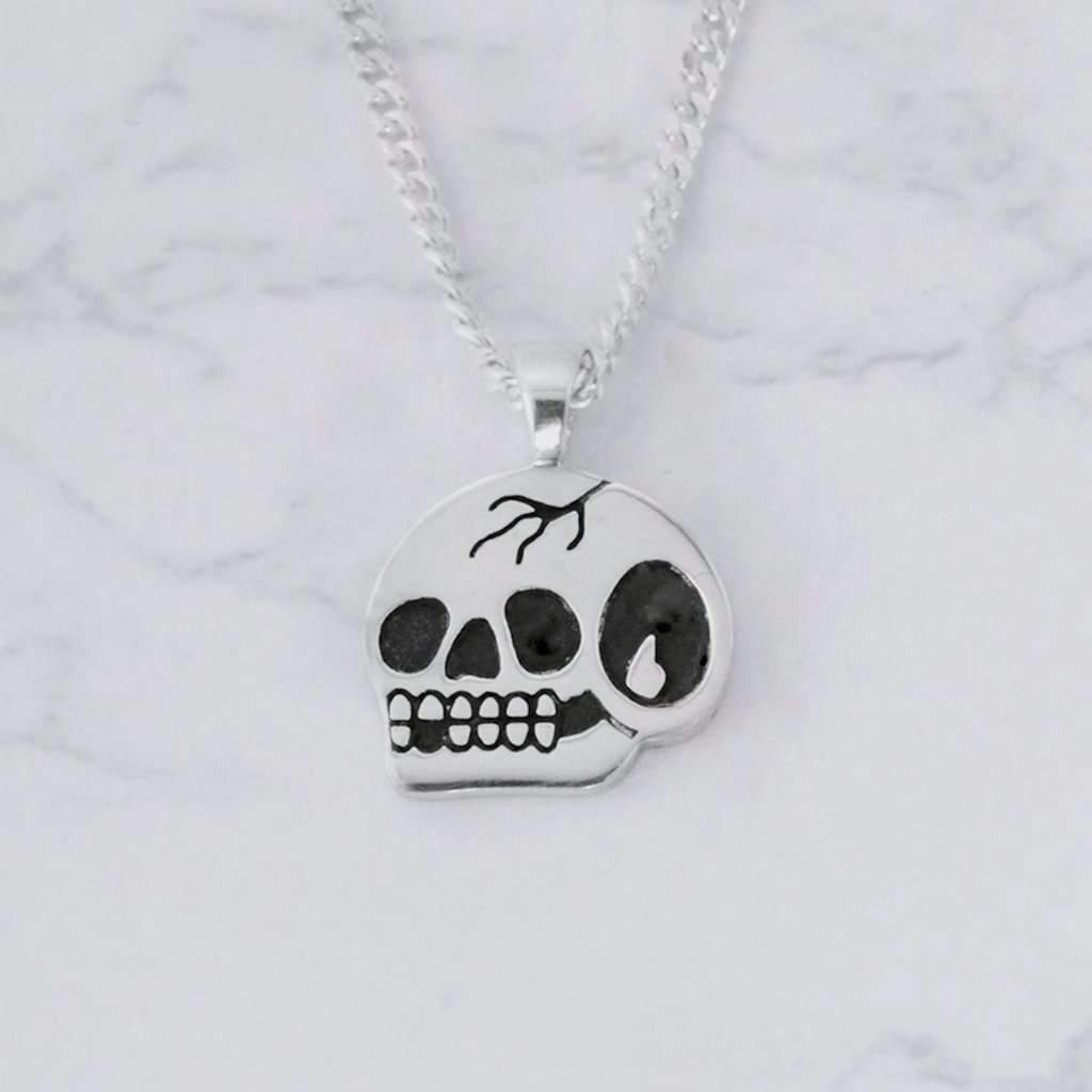 Steen Jones x Broken Lock 'Trademark Skull' Pendant - Steenjones