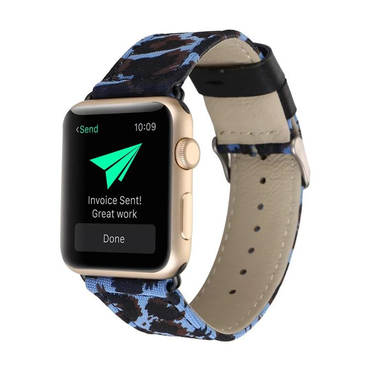 Apple Watch Leopard Band Watchband Stand