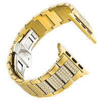 Apple Watch Inner Bling Band Watchband Stand Gold 38mm