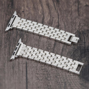 Bling Band for Apple Watch Jewelry Watchband Stand