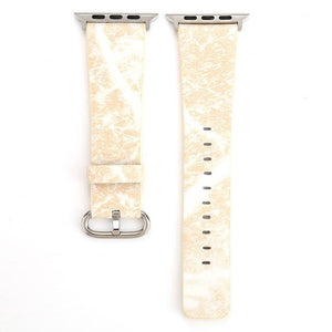 Apple Watch Marble Band WatchBand Stand Khaki 38mm